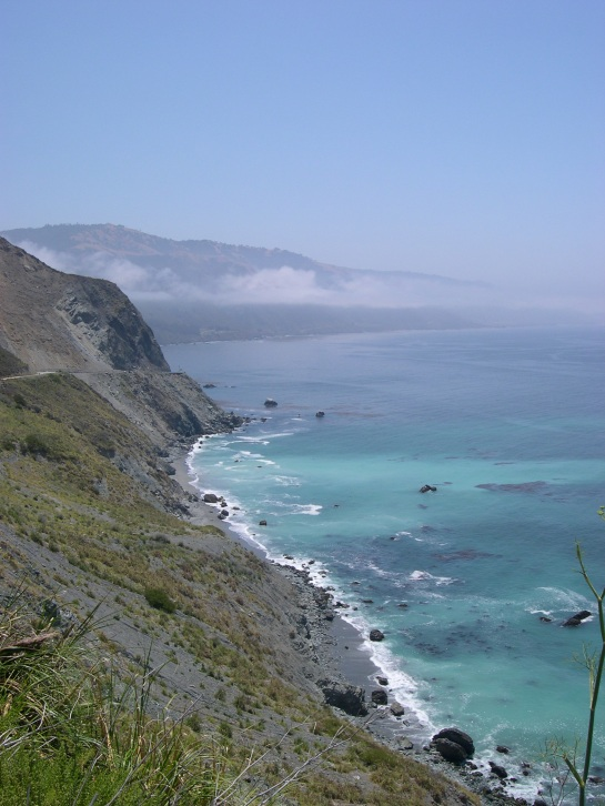 Highway One south of Big Sur.