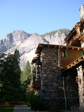 The Ahwahnee Hotel.