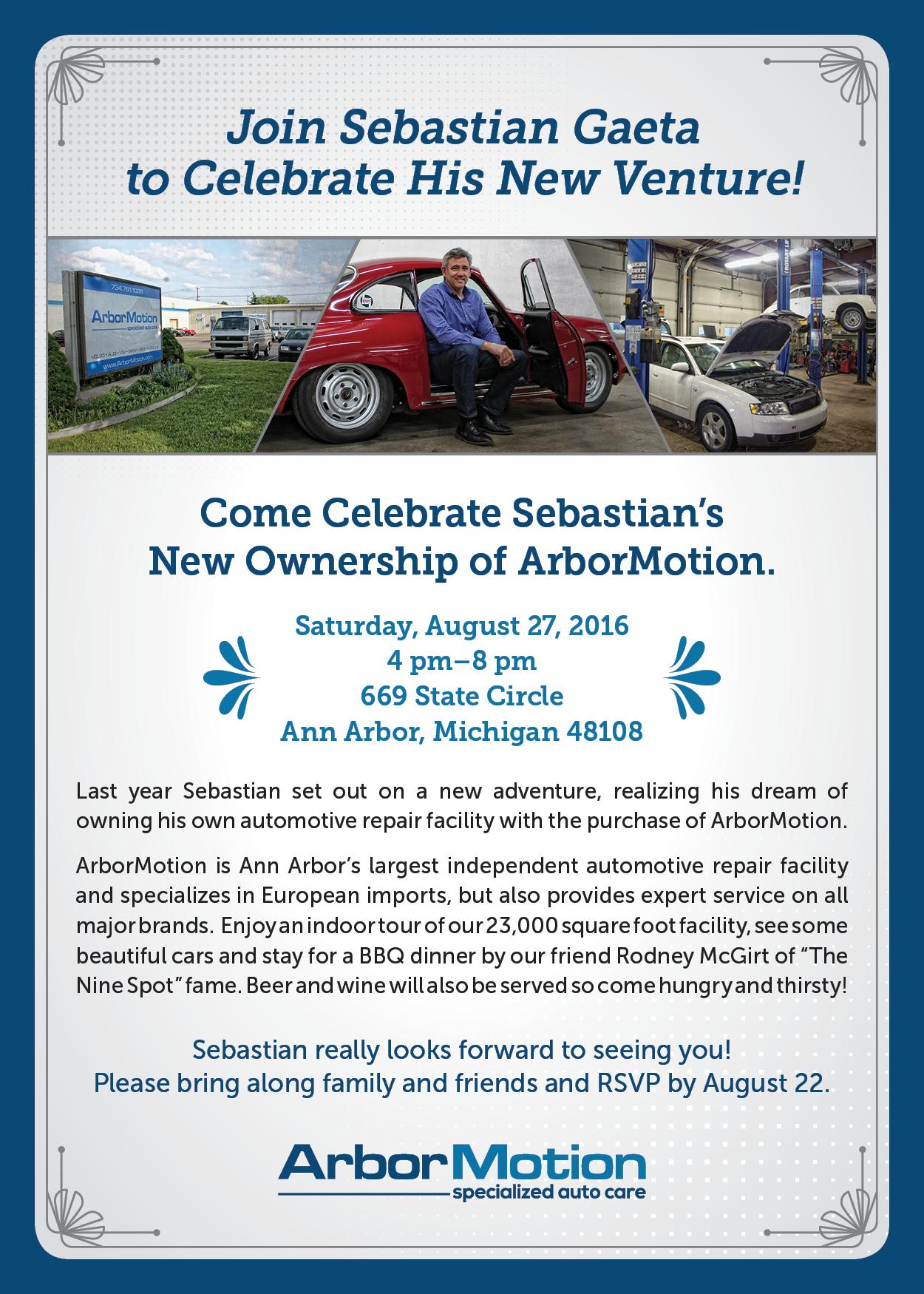 ArborMotion Sebastian Invite